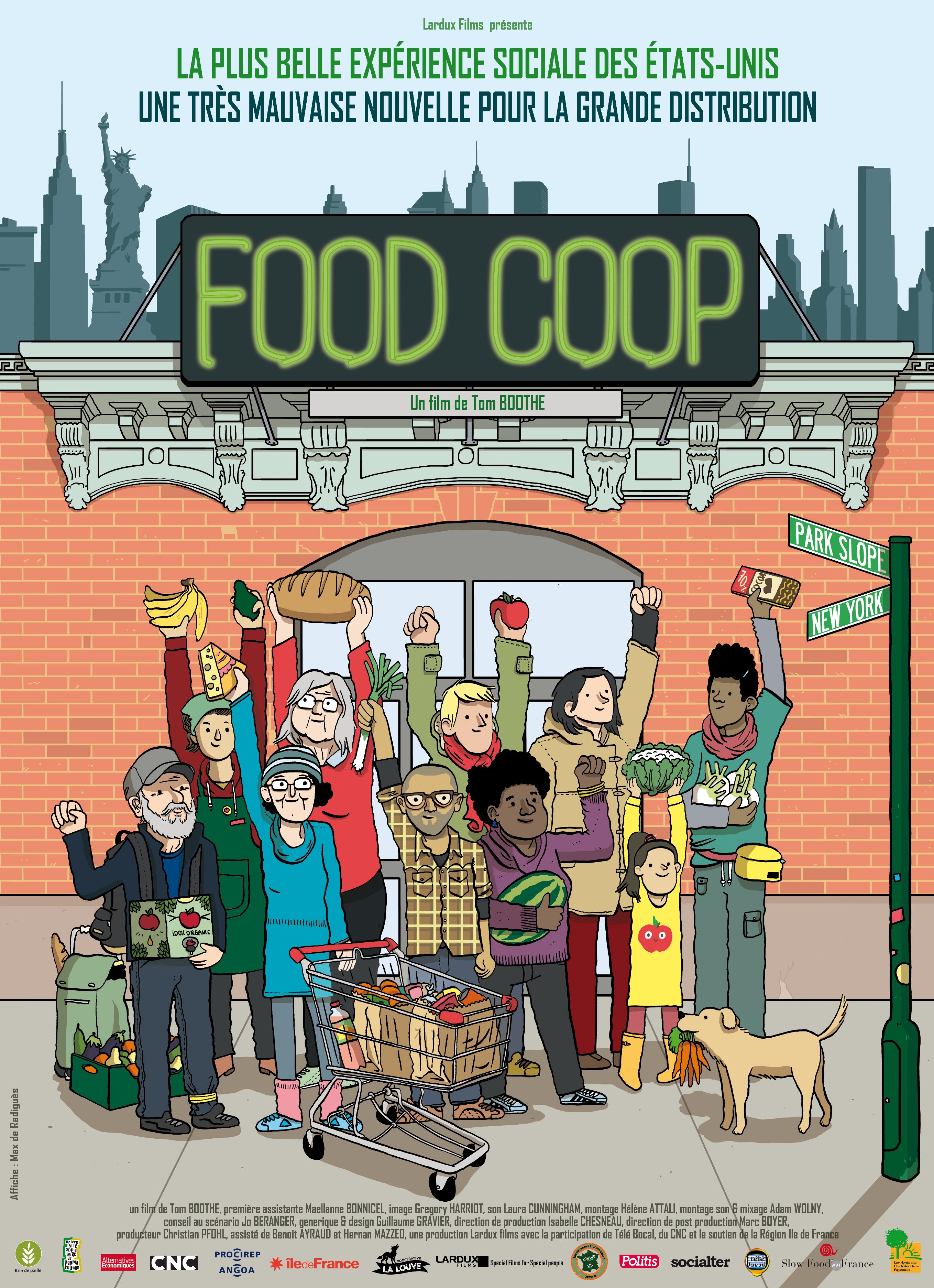 FOOD COOP : Projection + débat