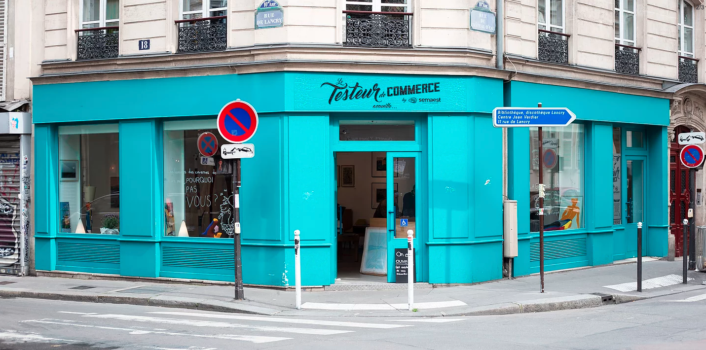 Pop-up Store Contremarques